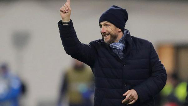 Roma coach not contemplating quitting after Fiorentina loss