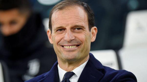 Allegri praises referee who sent him off