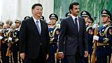 China calls for harmony as it welcomes Qatar emir amid Gulf dispute