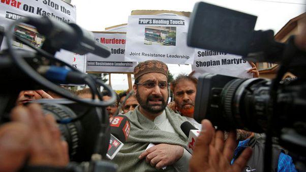 India summons Pakistan envoy over phone call to Kashmiri separatist