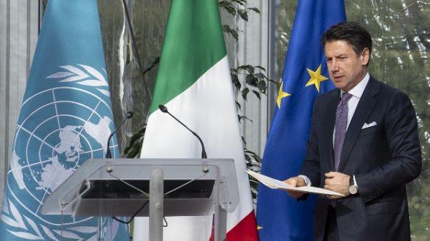 Conte, c'è accordo con Di Maio-Salvini