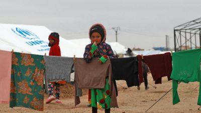 Syrie: le froid hivernal a tué 29 enfants fuyant les combats contre l'EI