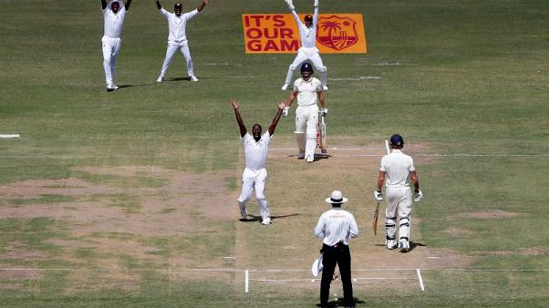 England dismissed for 187 in first innings against West Indies