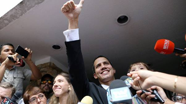 EU parliament recognises Guaido as Venezuelan interim president