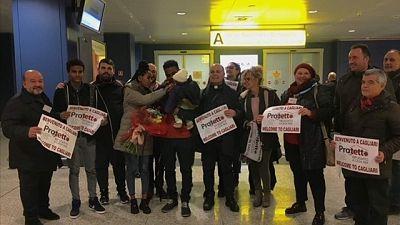 Migranti: profughe eritree a Cagliari