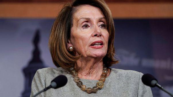 Pelosi - No wall money in U.S. border deal talks