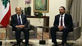 الرئاسة اللبنانية تعلن عن تشكيل حكومة وحدة وطنية جديدة