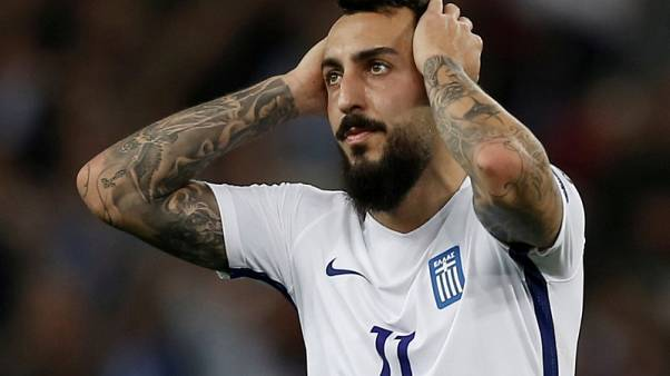 Galatasaray sign Mitroglou on loan from Marseille