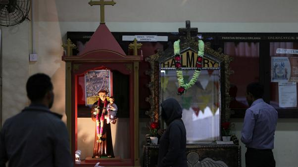 In packed churches and secret masses, papal visit brings Gulf Catholics hope