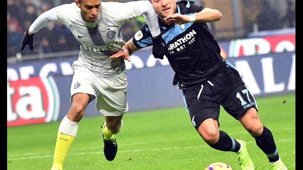 Coppa Italia:Immobile, Lazio ha meritato