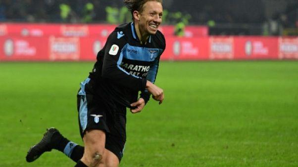 Coupe d'Italie: la Lazio sort l'Inter et rejoint le Milan AC en demi-finale