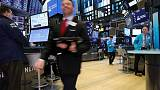 Stock rally flags after strong U.S. data, bond yields rise