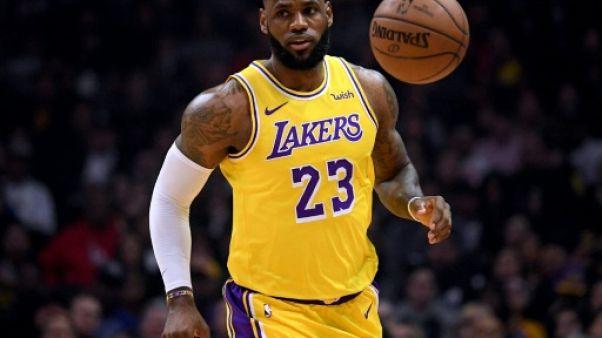 NBA: LeBron James de retour avec les Lakers