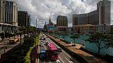 Macau's casino revenue drops 5 percent in January