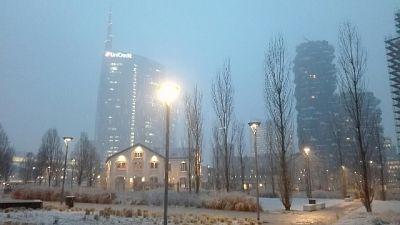 Maltempo: neve su Milano e Lombardia