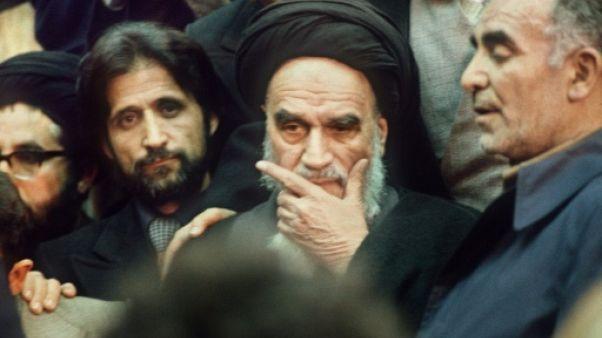 Le retour en Iran de l'ayatollah Khomeiny, vu par l'AFP
