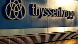 Thyssenkrupp's CEO says first-quarter in line with outlook, shares rise