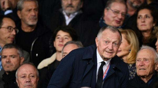 """Lyon: pour Aulas, avec le PSG """"le fair-play financier est bafoué"""""""