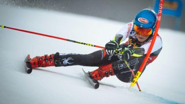 Ski: Shiffrin remporte le géant de Maribor ex-aequo avec Vlhova