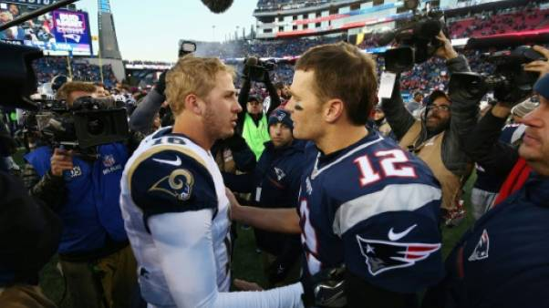 Super Bowl: LA Rams/New England, chocs de générations à gogo