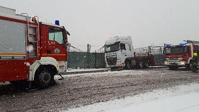 Maltempo, problemi viabilità in A. Adige