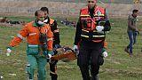 Gaza: plus de 30 Palestiniens blessés lors de heurts à la frontière