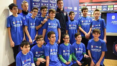 La Junior Tim cup fa tappa a Cagliari