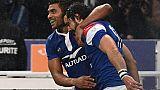 Tournoi: le XV de France en tête à la mi-temps face au pays de Galles 16-0