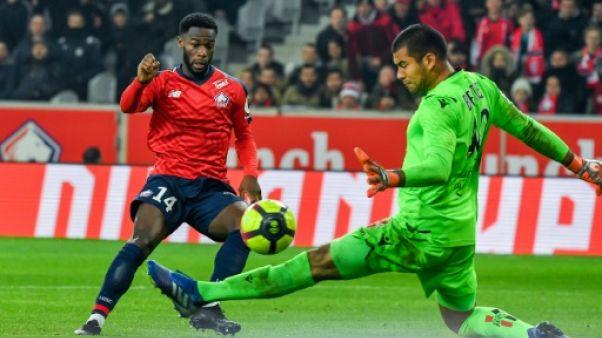 L1: irrésistible face à Nice, Lille met la pression sur Lyon