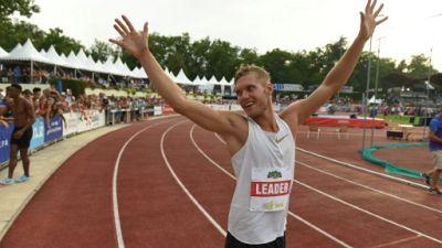 Athlétisme en salle: Kevin Mayer bat son record personnel sur 60 m haies
