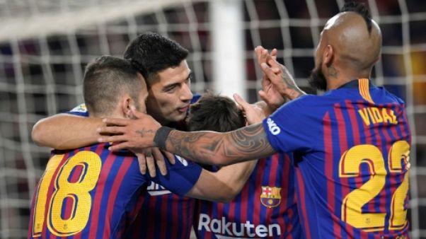 Espagne: Barcelone-Valence dans l'euphorie de la Coupe