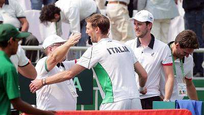 Davis, India-Italia 1-3,azzurri a finali