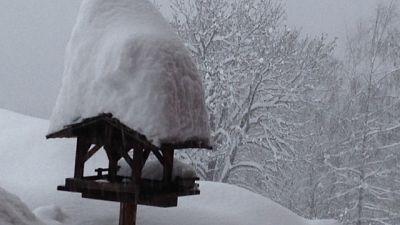 Sulle Dolomiti fino ad 85 cm neve fresca