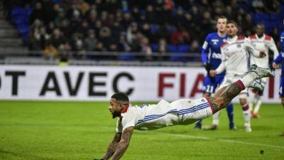 Ligue 1: choc européen entre Lyon et Paris, les Verts en embuscade