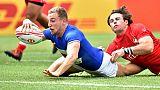 Rugby à VII: les Bleus enfin en quarts de finale