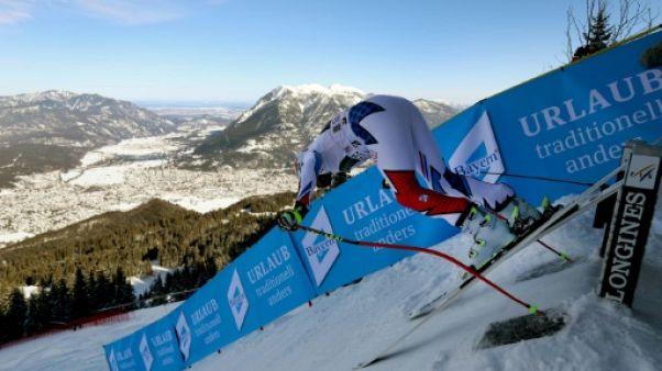 Ski: la descente de Garmisch annulée en raison de chutes de neige