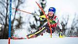 Shiffrin remporte le slalom de Maribor, dernière course dames avant les Mondiaux