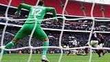 Son strikes late as Tottenham go second