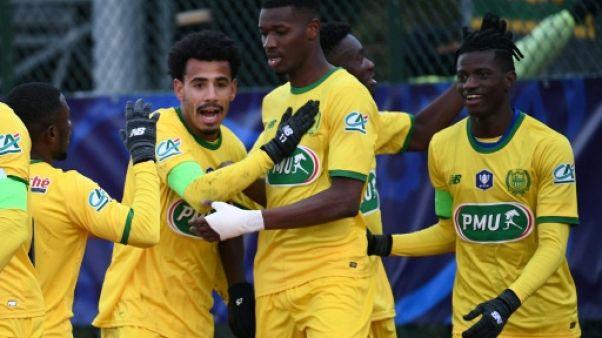 Coupe de France: Nantes passe dans la douleur face à l'Entente SSG
