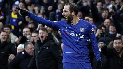 Due gol Higuain, Chelsea alla vittoria