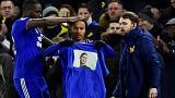 Cardiff honour missing Sala with T-shirt penalty celebration