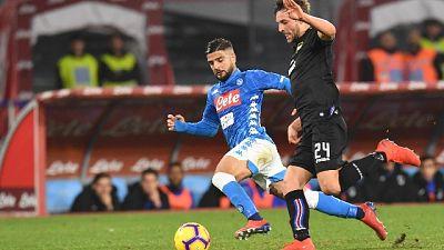 Serie A: Napoli-Sampdoria 3-0