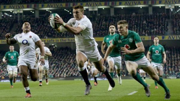 Tournoi: l'Angleterre de retour au sommet, l'Irlande sur terre