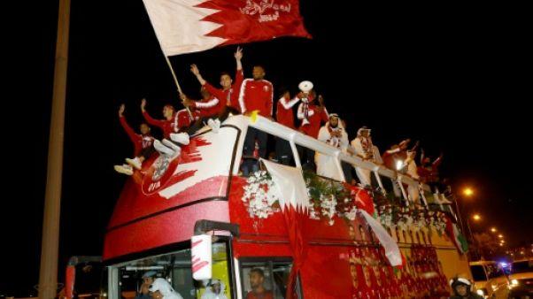 Qatar: les champions d'Asie célébrés pour leur retour à Doha
