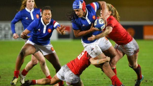 Tournoi féminin: la France réussit sa rentrée en écrasant le Pays de Galles