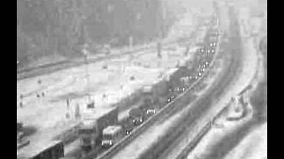 Caos neve Alto Adige: riaperta A22