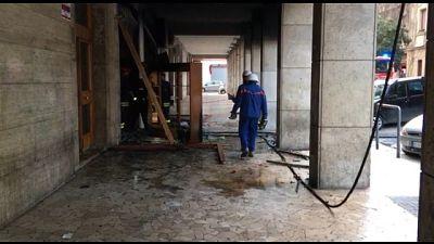 Incendio distrugge bar a Foggia,indagini