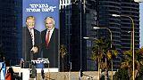 Israël: Netanyahu pose avec Trump sur des affiches électorales