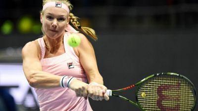 Tennis: la Néerlandaise Kiki Bertens titrée à Saint-Pétersbourg