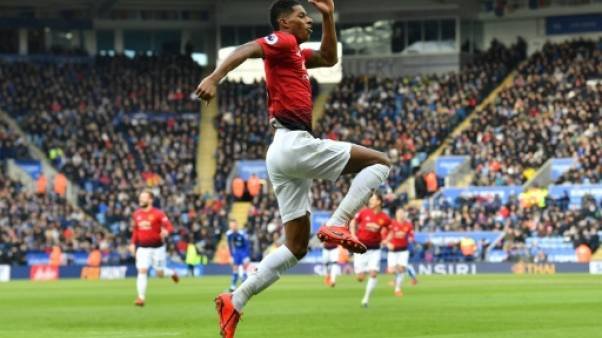 Angleterre: Manchester United reprend sa marche avec un petit pas